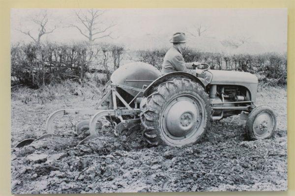 Ferguson TE20 Tractor Ploughing