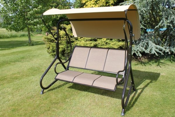 Blenheim Luxury Heavy Duty Garden 3 Seater Swing Seat-HC1502