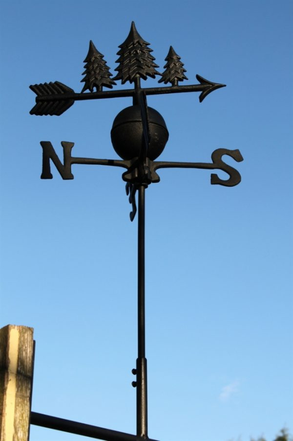 Cast Iron Trees Weathervane (11010)