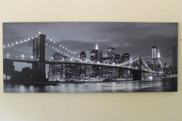 Brooklyn Bridge Print  LED HD1097