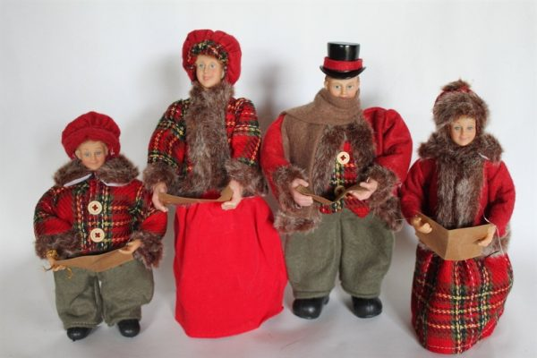 Victorian Christmas Family Choir Figures- 30cms Tall