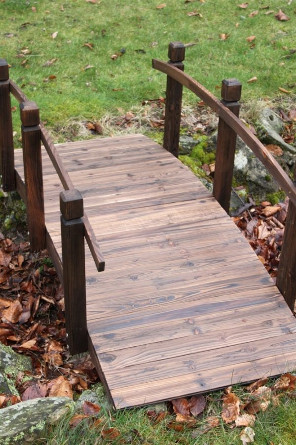 Wooden Garden Bridge 1.5M Wide