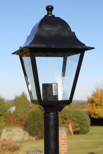 Victorian Style Single Headed Garden Lamp Post 2.2m