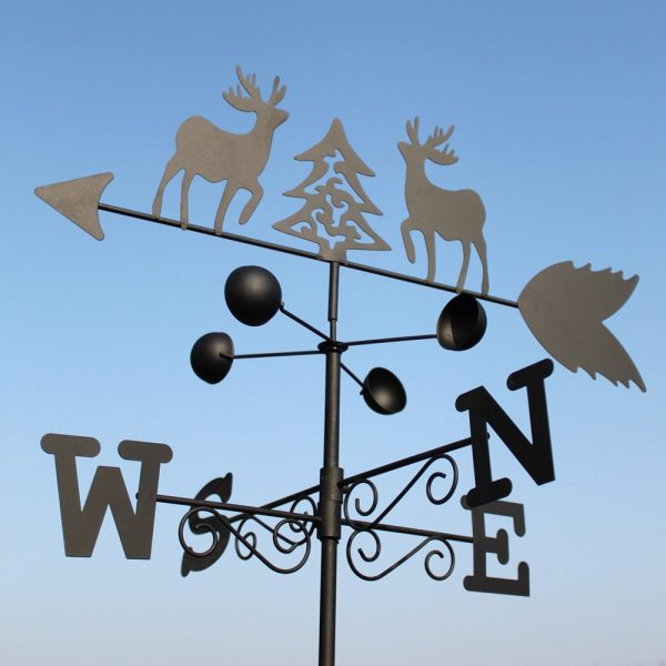 2 Deers Weathervane