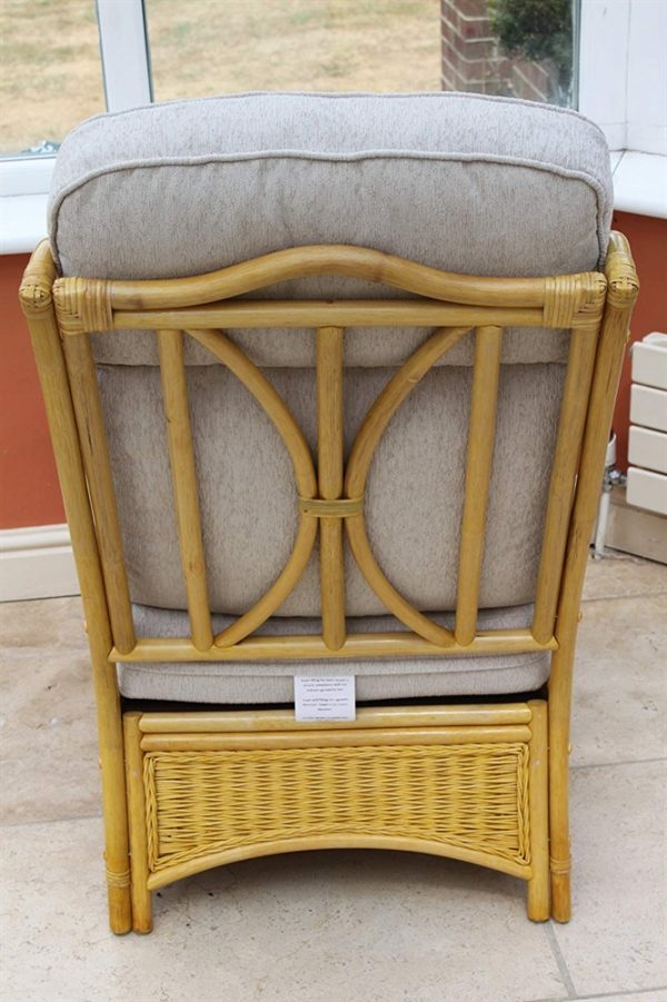 Sorrento Cane Furniture- 2 Chairs & Side Table- Cream