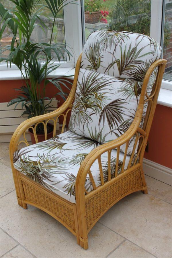 Sorrento Cane Furniture -Single Chair - 'Palm'