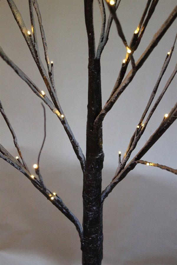Snowy Brown Birch Twig Tree 1.8M