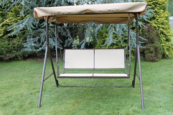 Textoline & Steel 2 Seater Swing Seat-WR1515