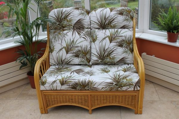 Sorrento 3 Piece Suite-2 Chairs & Sofa- Palm Fabric