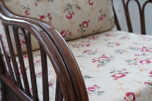 Verona Cane Furniture -Single Chair - Rose design