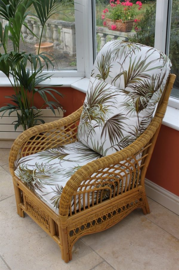 Portofino Cane Furniture -Single Chair - 'Palm'