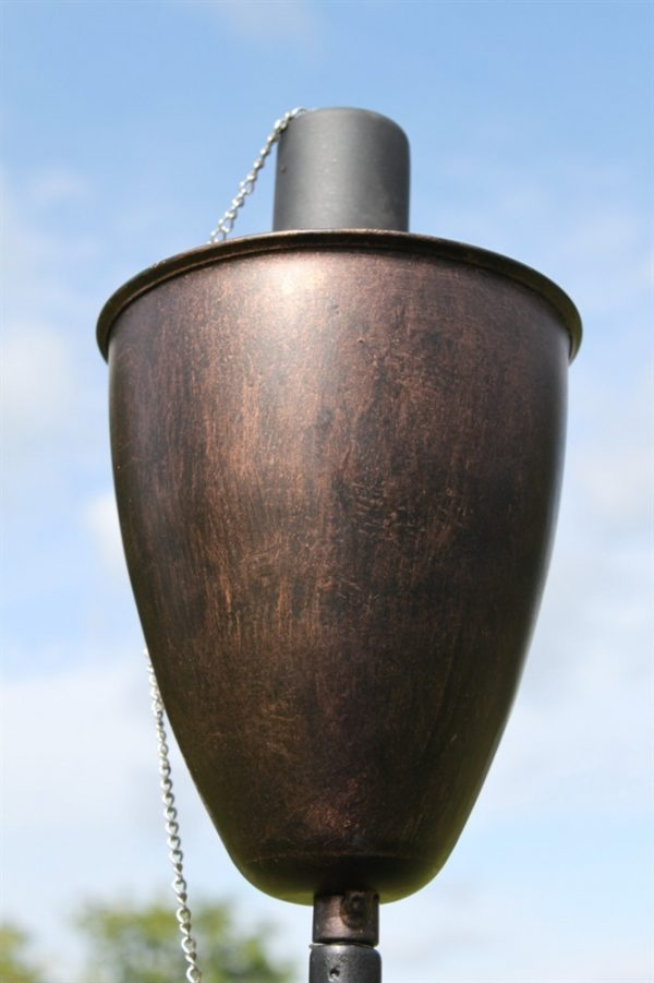 Copper Garden Torch- Approx 145cms Tall