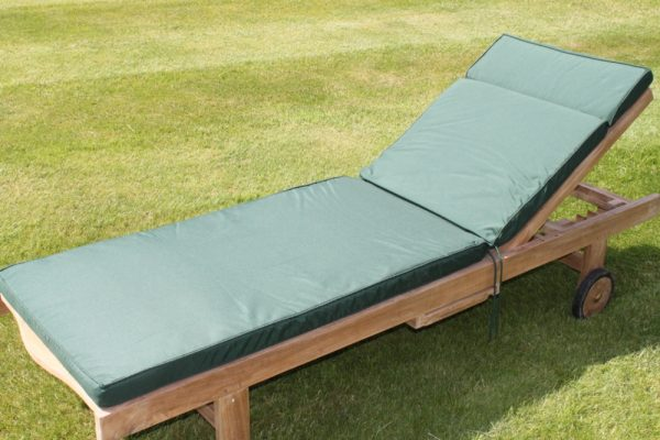 Cushion for Garden Lounger Chair - Available in 6 colours