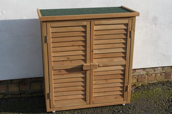 Wooden Tool Shed Natural-WS-95NaturalColour