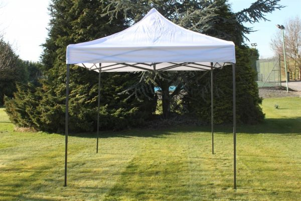 Quick Up Garden Gazebo 2.5M Square- white