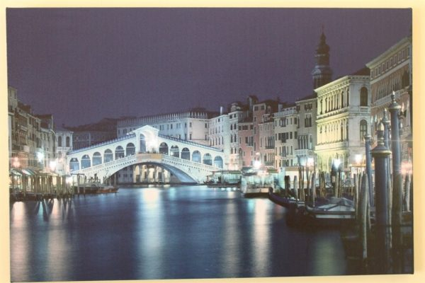 Rialto Bridge Scene Print LED HD1180