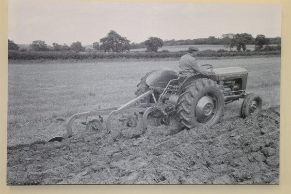 Massey Ferguson  Tractor Ploughing
