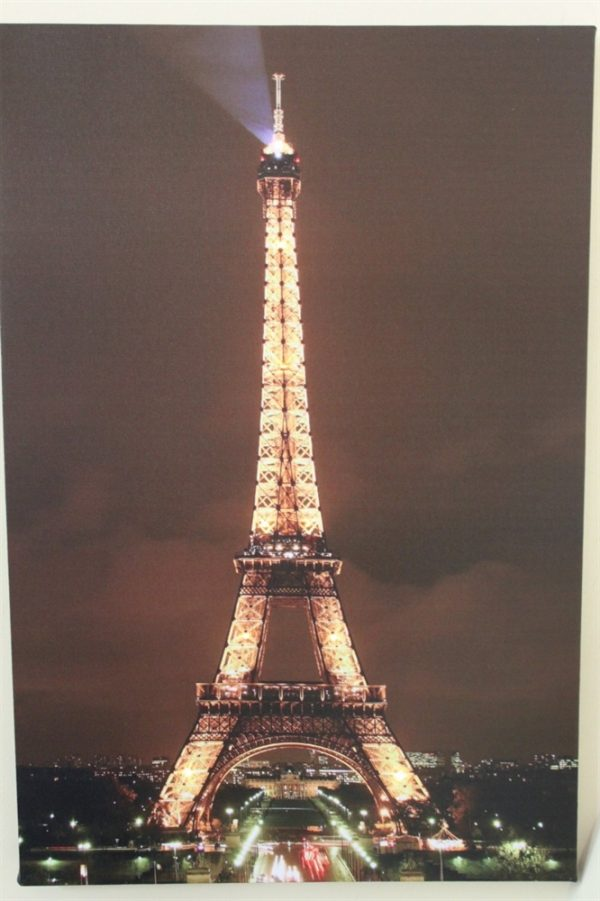 Eiffel Tower Paris Print LED Lights HD2188