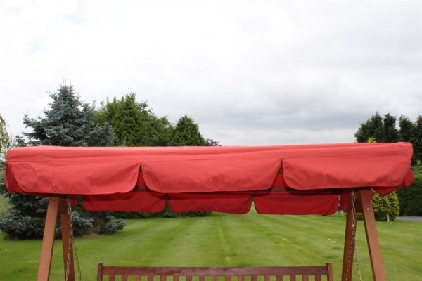 Spare Canopy for a 3 Seater Garden Swing Seat or Hammock in Terracotta