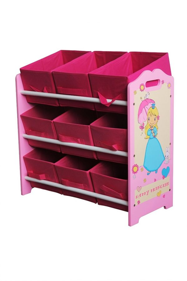 Happy Princess Childrens Wooden Rack