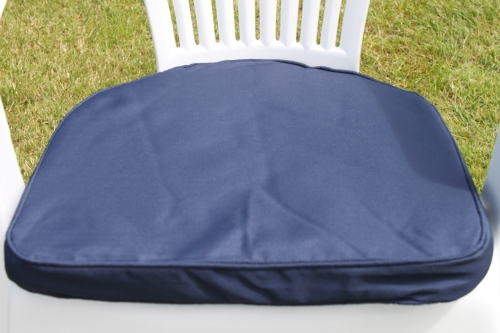 D-Pad Cushion for Plastic Garden Chair - Available in 6 colours