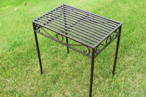 Versailles Metal Table in Antique Bronze (Large Size)