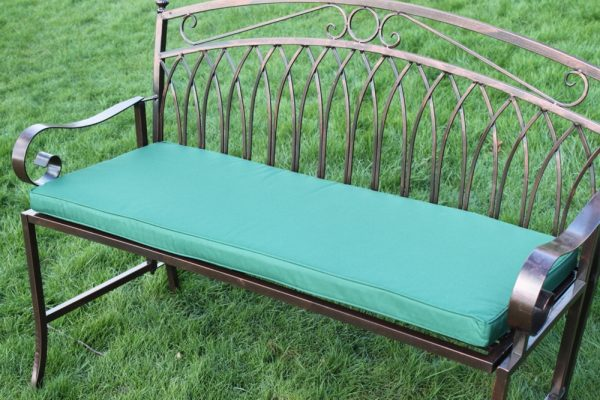 Cushion for 2 Seater Metal Garden Bench -Available in 6 colours