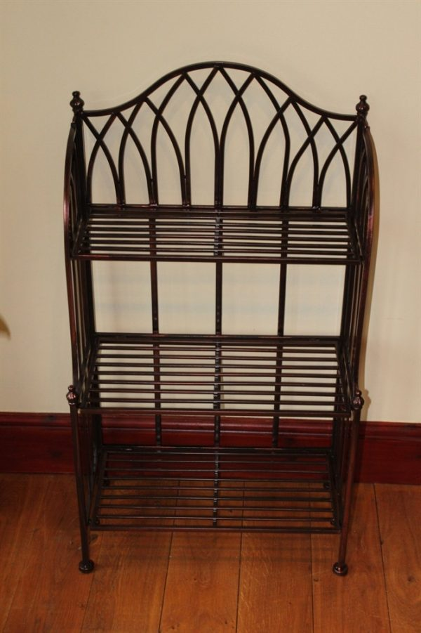 Versailles Metal 3 Tier Folding Rack- Ideal as a plant stand or general shelving