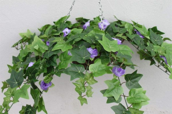 Artificial Floral Hanging Basket