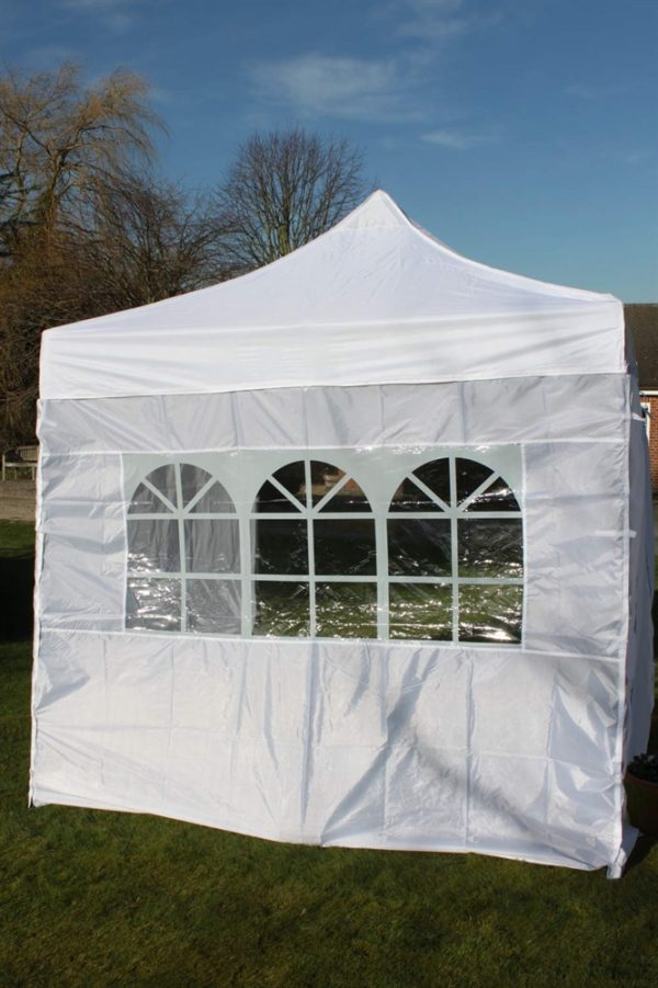 Quick Up Garden Gazebo 2.5M Square-4 Side Curtains