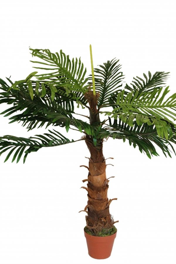 Artificial Coco Palm Tree 1m Tall With Pot