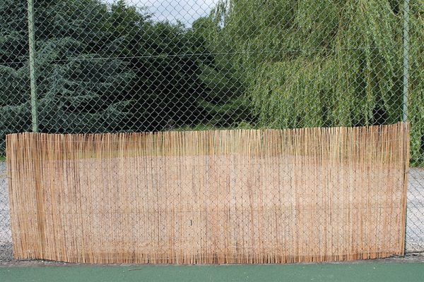 Peeled Willow Fencing Rolls 1.2M Tall and 3.8M Long