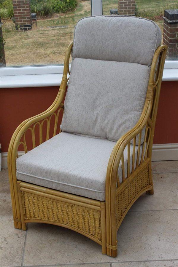 Sorrento Cane Furniture 2 Chairs & Sofa- Cream