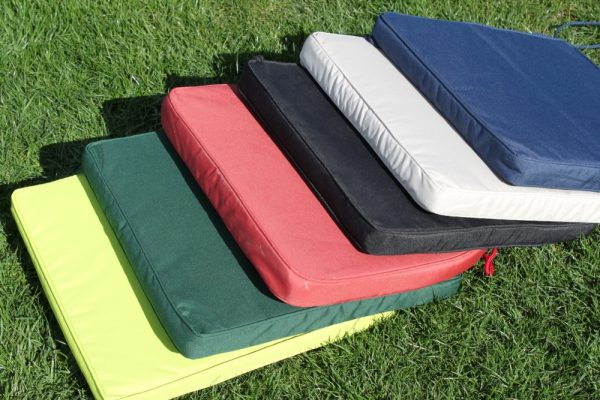 Seat and Back Cushion for Folding Chairs - Available in 6 colours