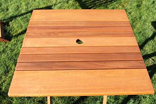 Frida Quality Solid Hardwood Garden Bistro Set