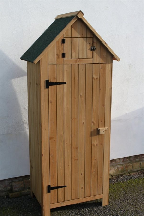 Brighton Wooden Tool Shed-WS-770Natural