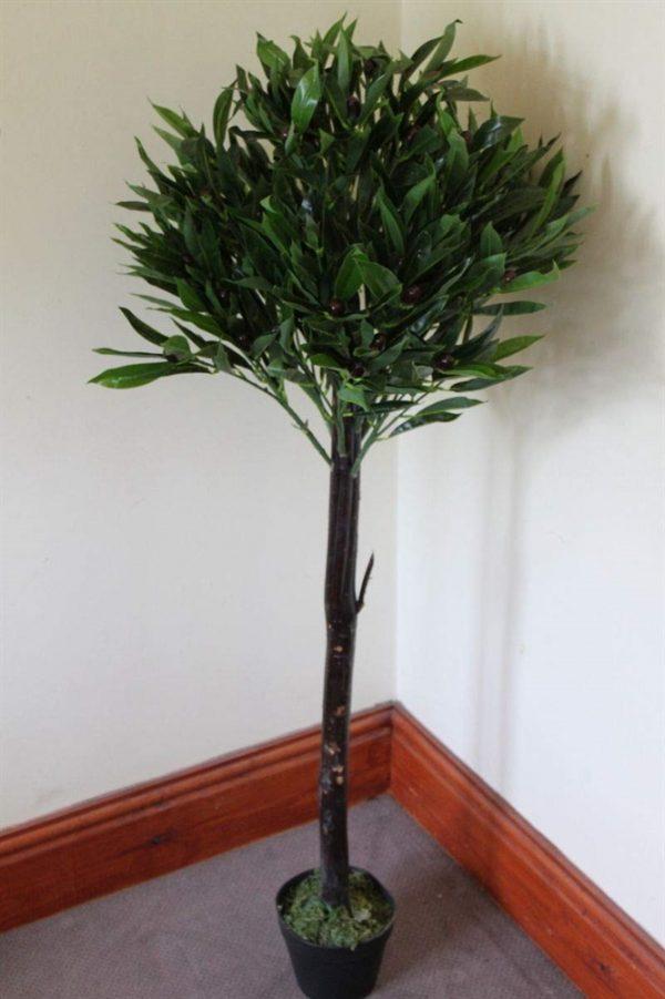 1.25M Tall Artificial Half Standard Olive Plant
