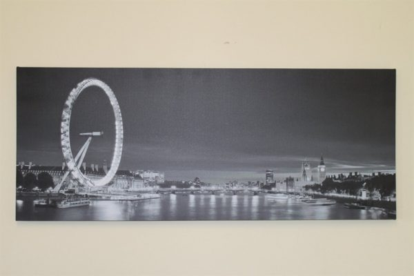 Large London Eye Canvas Picture Print