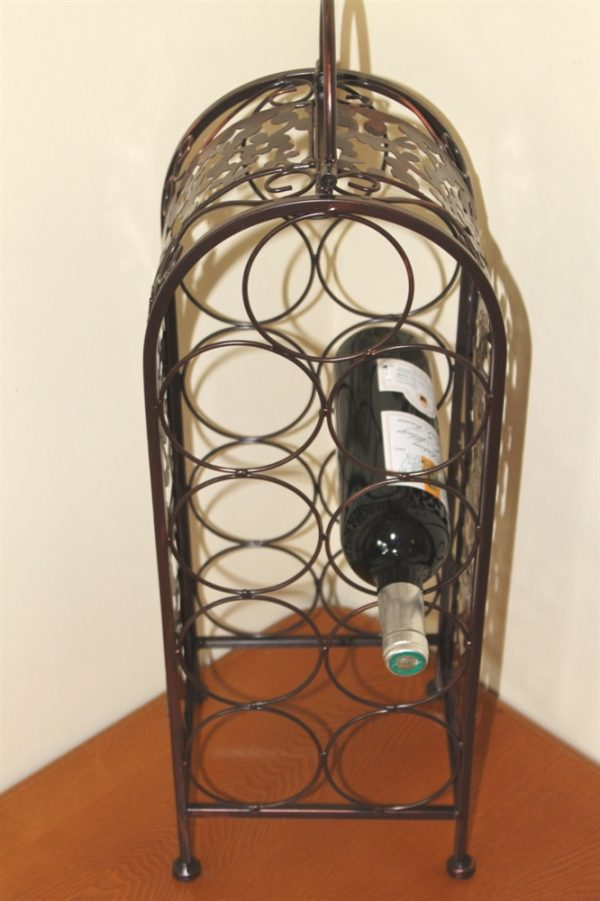 Decorative Wine Rack for 9 Bottles