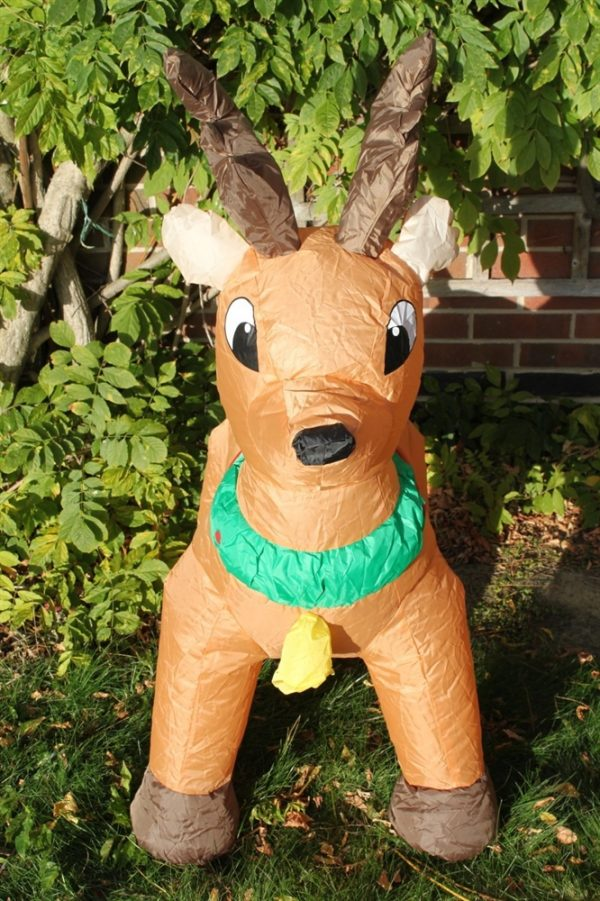 Inflatable Christmas Reindeer 1.2M Tall- Indoor or Outdoors
