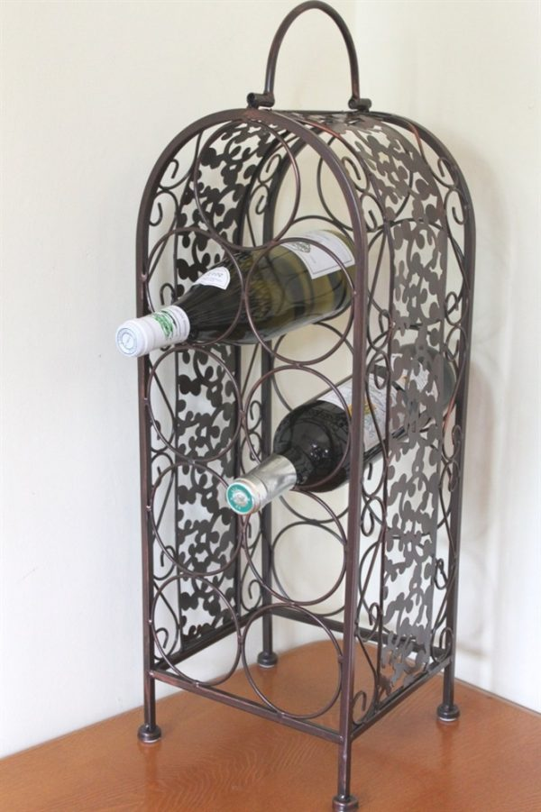 Decorative Wine Rack for 9 Bottles