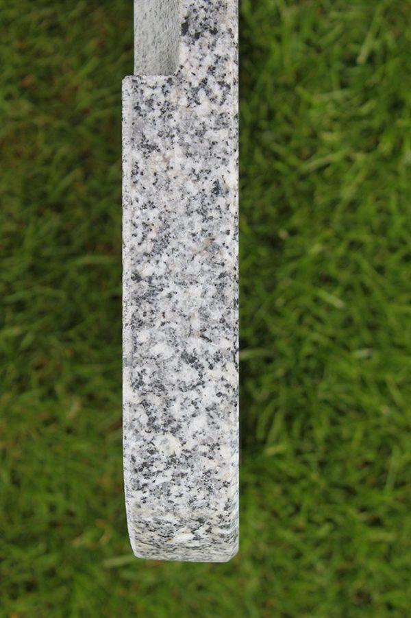 Polished Granite Cantilever Parasol Base