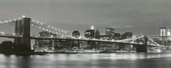 Brooklyn Bridge Print With LED Lights