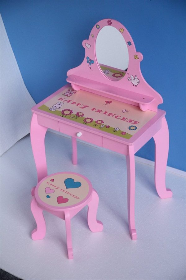 Happy Princess Childrens Dressing Table & Stool
