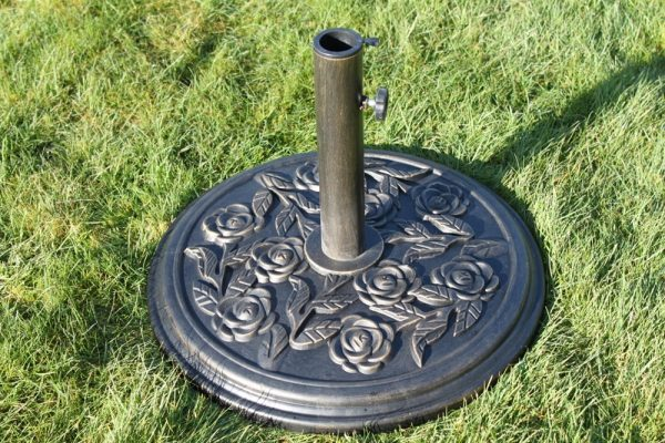 Resin Parasol Base 9KGS - Antique Bronze Colour