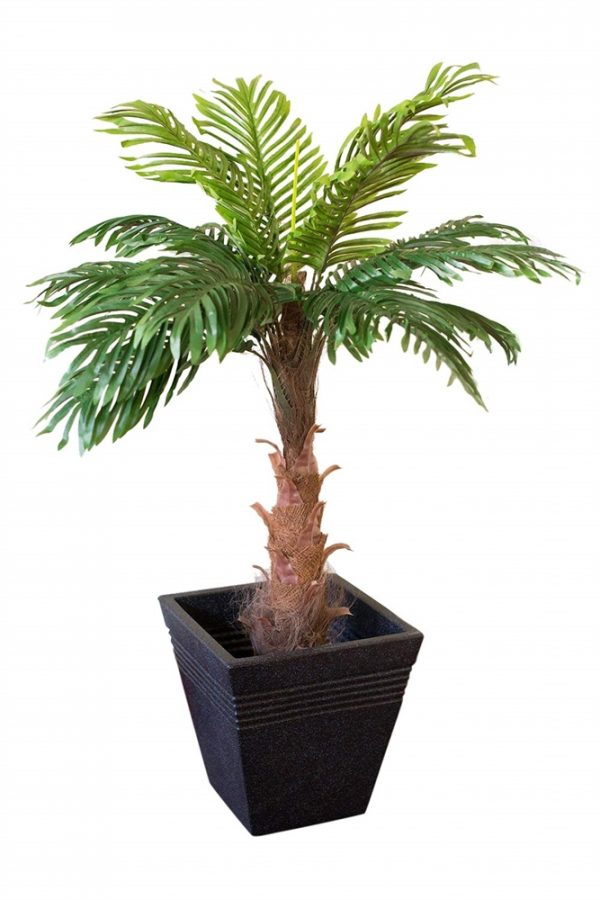 Artificial Coco Palm Tree 1m Tall with planter