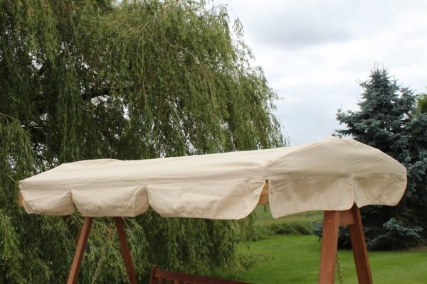 Spare Canopy for a 3 Seater Garden Swing Seat or Hammock in Beige