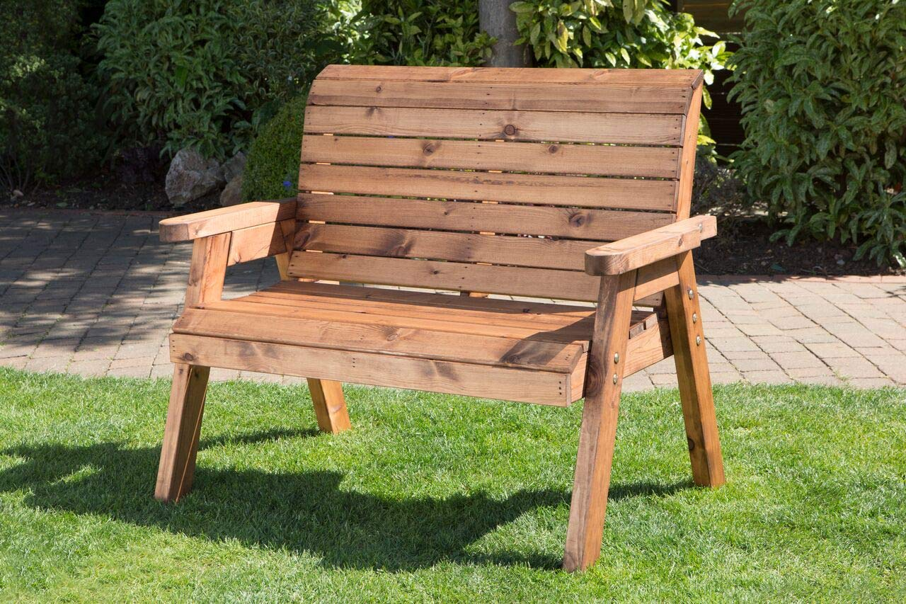 Rustic Style Heavy Duty Wooden Garden Trough Planter