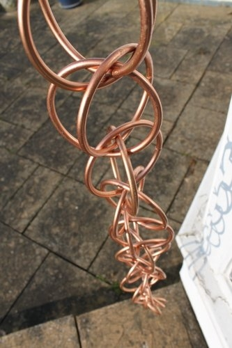Rain Chains - Double Loop Rain Chain- Available in 2 Sizes