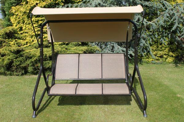 Blenheim Luxury Heavy Duty Garden 3 Seater Swing Seat-HC1502